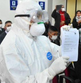 Caso sospechoso de coronavirus en La Paz