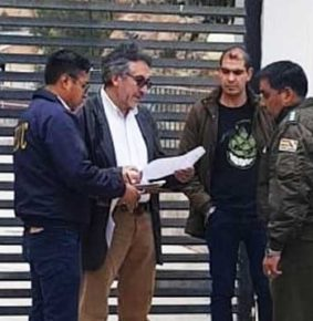 Aprehenden a Gustavo Torrico en La Paz
