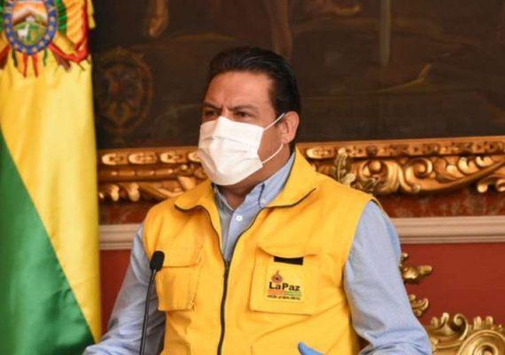 El Alcalde de La Paz y su esposa dan positivo a COVID
